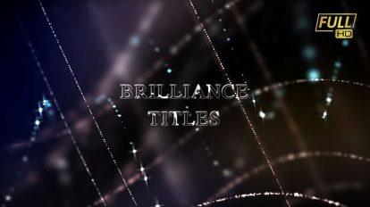 پروژه افترافکت نمایش عناوین سینمایی Brilliance Awards Titles