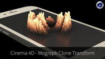 دوره آموزشی ساخت فرم متغیر با Mograph Clone در سینمافوردی