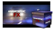 مجموعه فوتیج افکت نور آنامورفیک CinePacks Anamorphic FX
