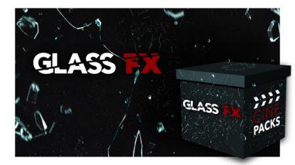 مجموعه فوتیج ویدیویی شکستن شیشه CinePacks Glass FX