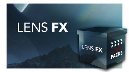 مجموعه فوتیج افکت نور حرفه ای CinePacks Lens FX 1