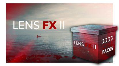 مجموعه فوتیج افکت نور حرفه ای CinePacks Lens FX 2
