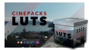 مجموعه پریست رنگ سینمایی CinePacks LUTS