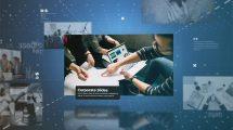 پروژه افترافکت اسلایدشو شرکتی Corporate Slideshow
