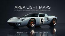 مجموعه تصاویر مپ نور Area Light Maps HDRI