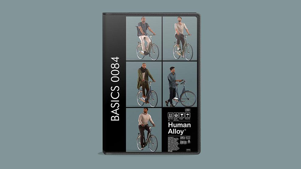 مجموعه مدل سه بعدی انسان Human Alloy Basics 0084