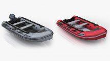 مدل سه بعدی قایق بادی Inflatable Boat Zodiac Mark-2