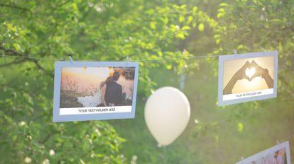 پروژه افترافکت اسلایدشو گالری عکس Photo Gallery Our Happy Day