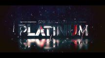 پروژه افترافکت نمایش لوگو پلاتینی Platinum Logo Reveal