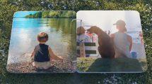 پروژه افترافکت آلبوم عکس تابستانی Summer Photo Album
