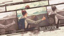 پروژه افترافکت اسلایدشو عکس سفر Travel Slideshow