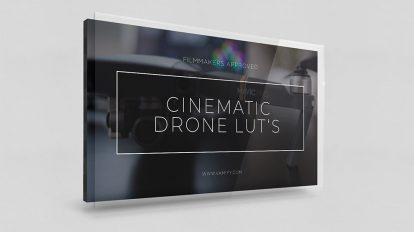مجموعه پریست رنگ فوتیج هلی کم Cinematic Drone LUTs