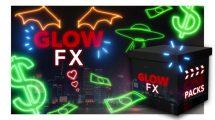 مجموعه ویدیوی موشن گرافیک افکت های درخشان CinePacks Glow FX