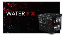 مجموعه فوتیج ویدیویی پاشیدن آب CinePacks Water FX