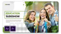 پروژه پریمیر اسلایدشو مرکز آموزشی Education Slideshow