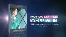 مجموعه ویدیوی موشن گرافیک مت متحرک Motion Mattes Vol.1