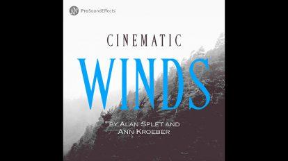 مجموعه افکت صوتی سینمایی باد Cinematic Winds