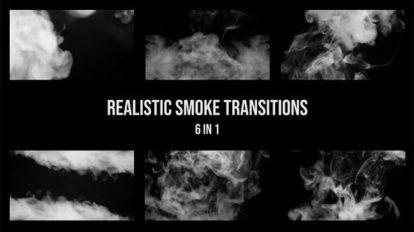 مجموعه ویدیوی موشن گرافیک ترانزیشن با دود واقعگرایانه