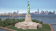 مدل سه بعدی مجسمه آزادی Statue of Liberty