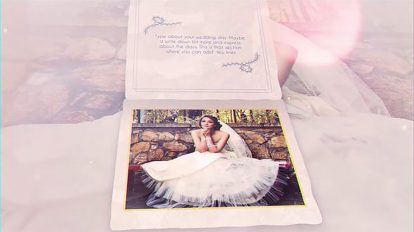 پروژه افترافکت آلبوم عکس عروسی The Wedding