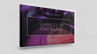 مجموعه فوتیج افکت فیلم 16mm Film Overlays