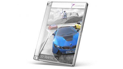 مجموعه مدل سه بعدی وسایل حمل و نقل 3D Traffic v2