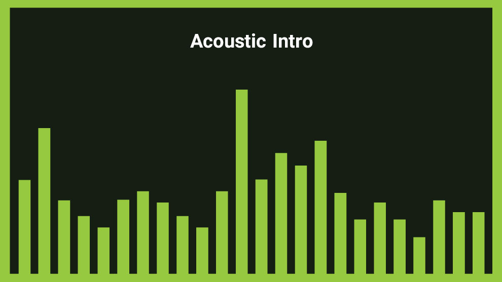 موزیک زمینه آکوستیک Acoustic Intro