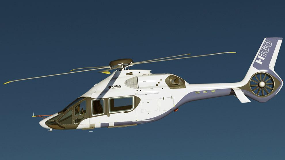 مدل سه بعدی هلیکوپتر ایرباس Airbus Helicopter H160