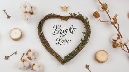 پروژه پریمیر افتتاحیه نمایش قاب عکس Bright Love