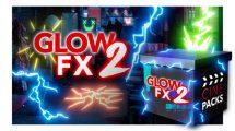 مجموعه ویدیوی موشن گرافیک افکت های درخشان CinePacks Glow FX 2