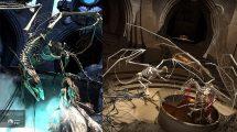 مجموعه مدل سه بعدی اسکلت اژدها dforce Dragon Wraith Skeleton