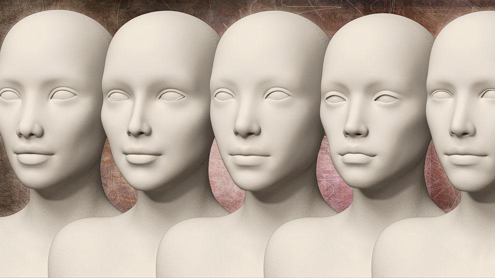 مجموعه پریست چهره و بدن زن HD Faces and Bodies for Genesis 3 Female