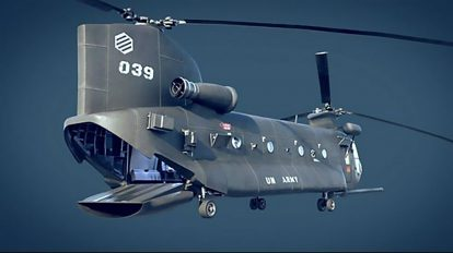 مدل سه بعدی هلیکوپتر Transport Helicopter
