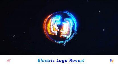 پروژه افترافکت نمایش لوگو با افکت الکتریکی Electric Logo Reveal