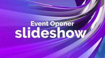 پروژه پریمیر اسلایدشو رونمایی از مراسم Event Opener Slideshow