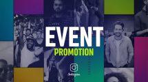 پروژه افترافکت تیزر تبلیغاتی کنفرانس Event Promo