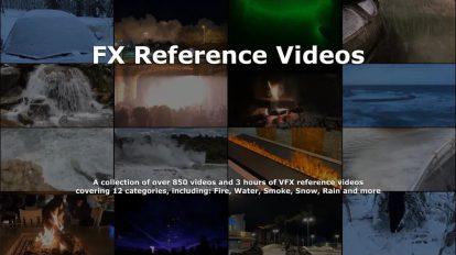 مجموعه فوتیج مرجع برای ساخت جلوه های ویژه FX Reference Video Collection