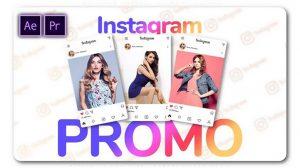 پروژه پریمیر تیزر تبلیغاتی اینستاگرام Instagram Channel Promo Slideshow