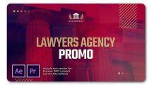 پروژه افترافکت تیزر تبلیغاتی دفتر وکالت Lawyer Agency Promo