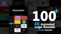 پروژه افترافکت مجموعه تیزر نمایش لوگو Logo Pack