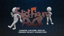 مجموعه ویدیوی موشن گرافیک آدمک Stick Figure Pack