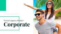 پروژه افترافکت تیزر تبلیغاتی گردشگری Tourism Agency Presentation