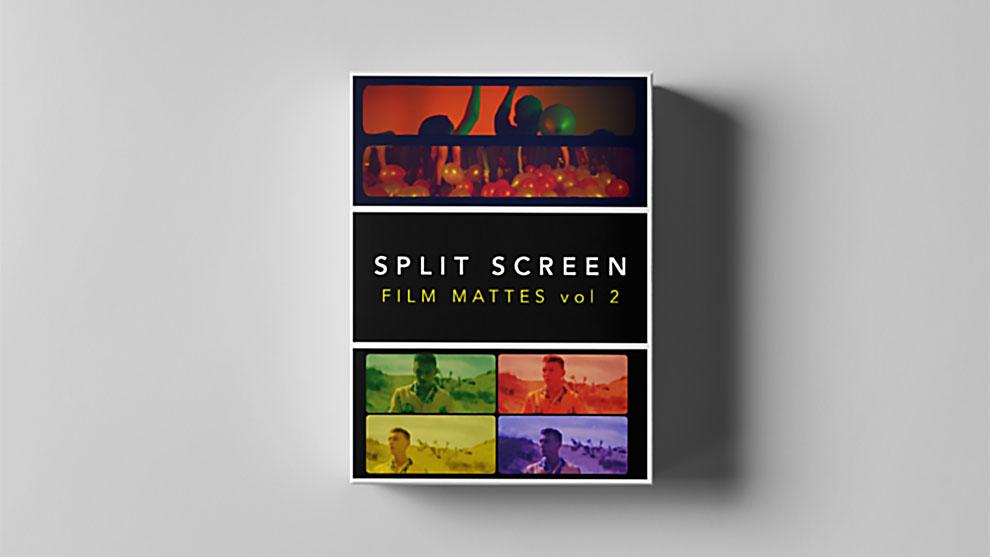مجموعه تصاویر مت اسکرین فیلم Split Screen Film Mattes 2