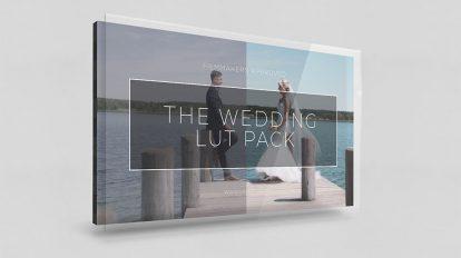 مجموعه پریست رنگ فیلم عروسی LUT Pack for Wedding Filmmakers