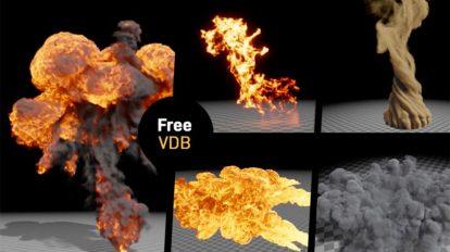 مجموعه شبیه سازی حجمی VDB Animations