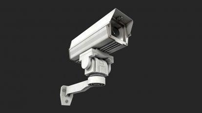مدل سه بعدی دوربین مدار بسته CCTV Camera