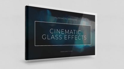 مجموعه فوتیج افکت های بازتاب نور Cinematic Glass Effects