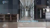 پروژه افترافکت پرزنتیشن شرکتی Corporate Slides Social Media