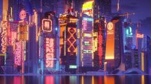 پروژه سینمافوردی افق شهری سایبرپانک CPUAF 77