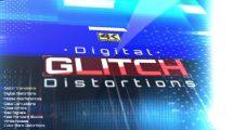 مجموعه فوتیج افکت گلیچ Digital Glitch Distortions
